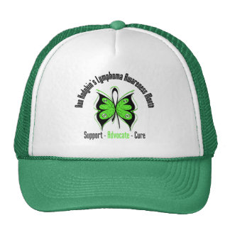 Butterfly Non Hodgkins Lymphoma  Awareness Month Hats