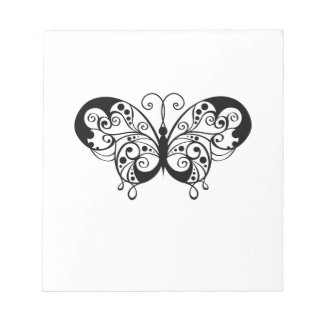 Butterfly Memo Note Pad