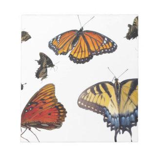 Butterfly Scratch Pads