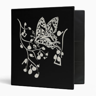Butterfly_Notes 3 Ring Binder