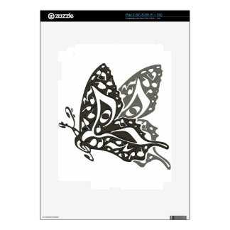 Butterfly_Notes Decal For The iPad 2