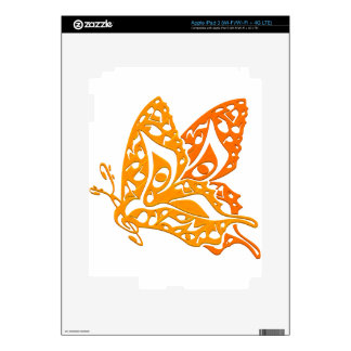 Butterfly_Notes Decals For iPad 3