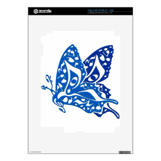 Butterfly_Notes Decals For The iPad 2