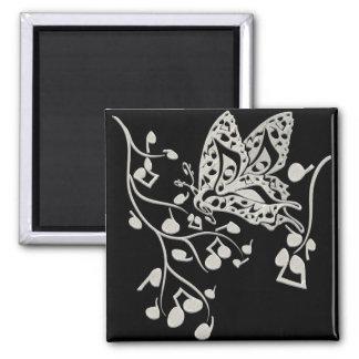 Butterfly_Notes Imán Cuadrado