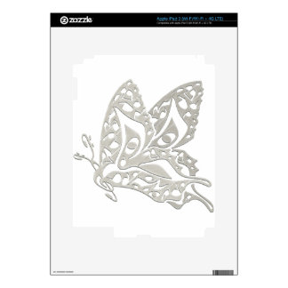 Butterfly_Notes iPad 3 Decals