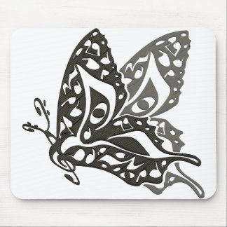 Butterfly_Notes Mouse Pad