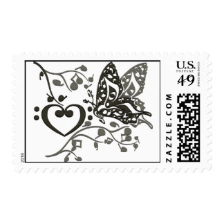 Butterfly_Notes Stamps