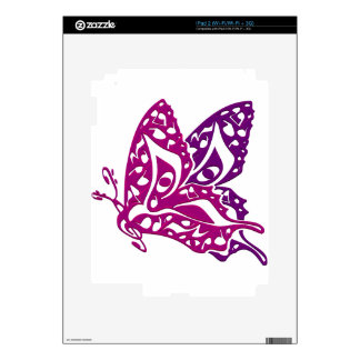 Butterfly_Notes Skin For The iPad 2