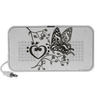 Butterfly_Notes Laptop Speakers