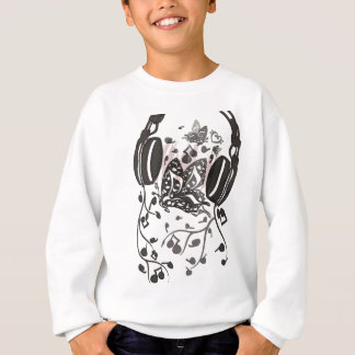 Butterfly_Notes Sudadera