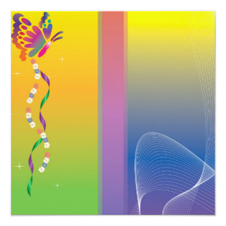 butterfly nuanced card
