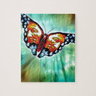 Butterfly of Cherokee Legend Jigsaw Puzzle