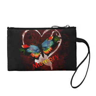 Butterfly Of Memory Change Purse