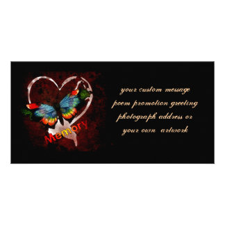 Butterfly Of Memory Picture Card