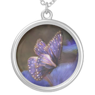Butterfly Of Mystery Wearable Art Necklace