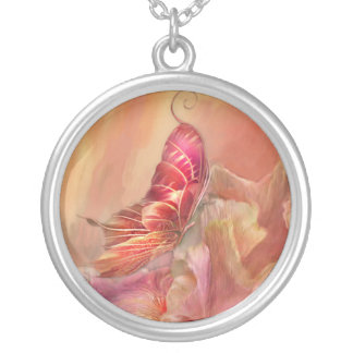 Butterfly Of Spring Wearable Art Necklace
