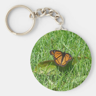 Butterfly of summer keychain