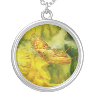 Butterfly Of Summer Wearable Art Necklace