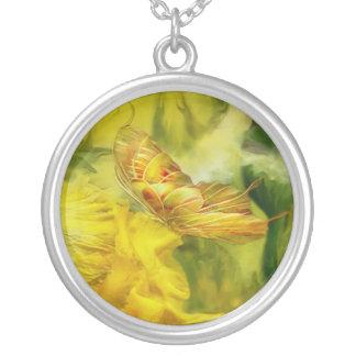 Butterfly Of Summer Wearable Art Necklace