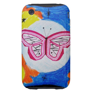 butterfly of the wind iPhone 3 tough covers