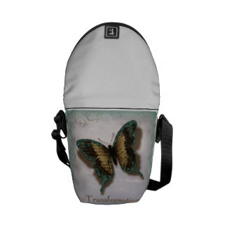 Butterfly of Transformation Rickshaw Messenger Bag