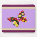 Butterfly of Tulips Mouse Pad