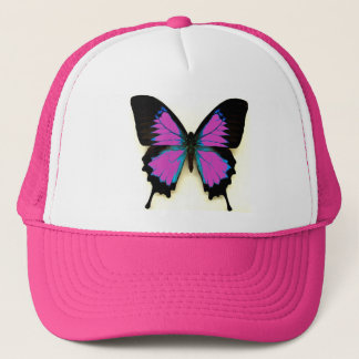 Butterfly On A Cap