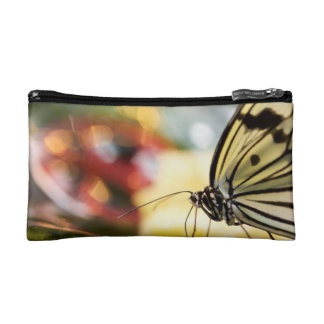 Butterfly on a Dish Makeup Bag