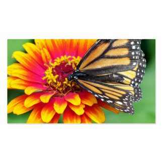 Butterfly on a Flower Double-Sided Standard Business Cards (Pack Of 100)
