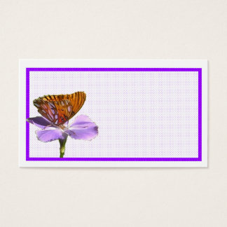 Butterfly On A Flower Business Card