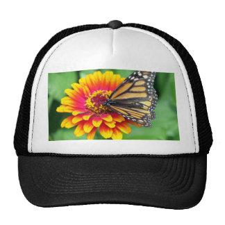Butterfly on a Flower Trucker Hat