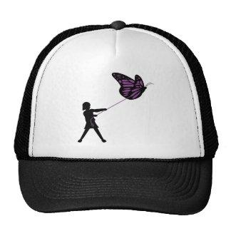 Butterfly on a Leash Hat