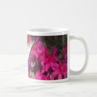 Butterfly on Azalea.jpg Coffee Mug
