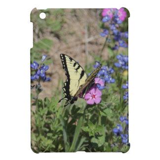 Butterfly on Bluebonnet iPad Mini Covers