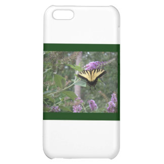 Butterfly on Butterfly Bush iPhone 5C Cases