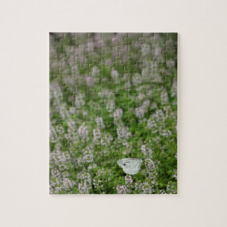 Butterfly on Creeping Thyme Jigsaw Puzzle