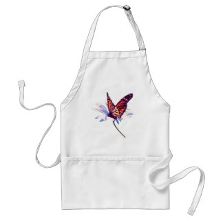 Butterfly On Daisy Adult Apron