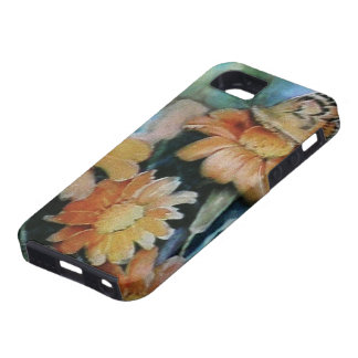 Butterfly on Daisy iPhone 5 Cases