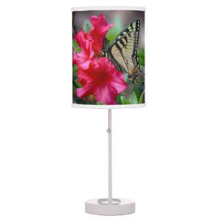 Butterfly On Flower Lamp