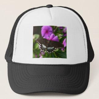 Butterfly on Flower Trucker Hat