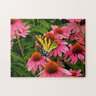 Butterfly on Flower v21 Puzzle