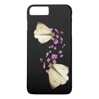 Butterfly on Flowers iPhone 7 Plus Case