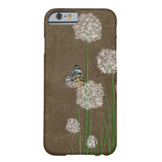 butterfly on fluff barely there iPhone 6 case