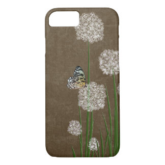 butterfly on fluff iPhone 8/7 case