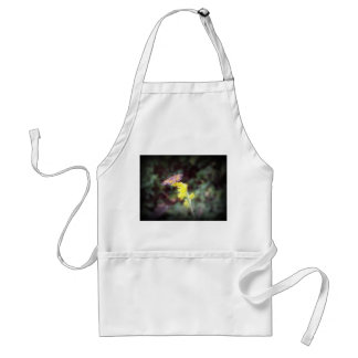 Butterfly on Goldenrod Flowers Adult Apron