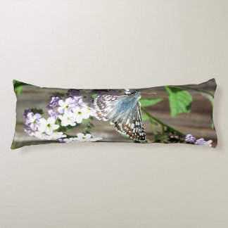 Butterfly on Heliotrope Body Pillow
