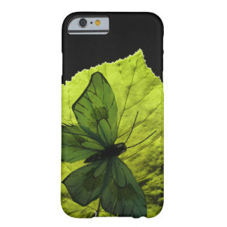 Butterfly on leaf barely there iPhone 6 case