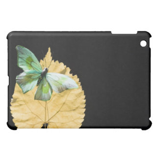 Butterfly on leaf cover for the iPad mini