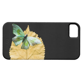 Butterfly on leaf iPhone SE/5/5s case