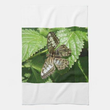 Butterfly on Leaf Kitchen Towel